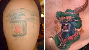 The Sucky Panther And Its Many Makeovers Tattoodo