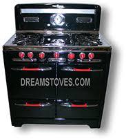 stove handles. 1954 o\u0027keefe \u0026 merritt antique gas stove, \u201clow-back\u201d model stove handles
