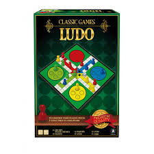 Wooden Ludo Board Game Deluxe Wooden Classic Pachisi in Gift Box Classic Games 89