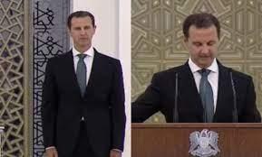بشار الأسد يقسم على القرآن بأن يحفظ الشعب السوري وحقوقه (فيديو)