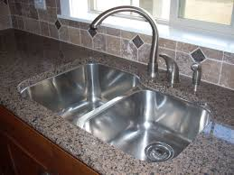 Kitchen Sinks For Granite Countertops Install Kitchen Sink Granite Countertop Best Kitchen Ideas 2017