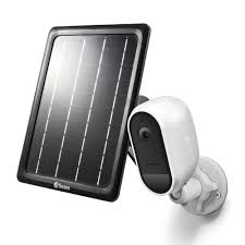 Wire-Free 1080p Security Camera with <b>Solar Charging Panel</b> ...