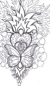 Coloriage Mandala Imprimer Dessin De Coeur Imprimer Coloriage De Coeur Mandala Colorier Coeur Flamme Mandala Gratuit L