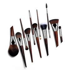 high end rosewood professional makeup brushes set foundation powder blush eyeliner eyeshadow make up tools kits set best makeup kabuki brush from