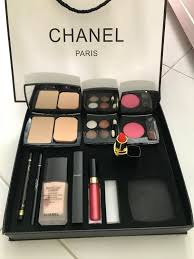 fast deal 30 chanel makeup set 9 in 1 health beauty makeup on carousell