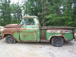 Find used 1956 CHEVROLET PICKUP TRUCK PROJECT/SALVAGE, PARTS in ...