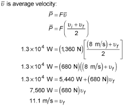 velocity and power in physics problems dummies image8 png