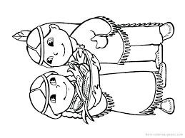 Free American Indian Coloring Pages Free Native Coloring Pages
