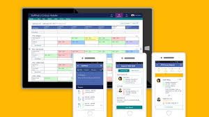 Employee Shift Schedule App Microsoft Launches Staffhub A New Office 365 App Aimed At