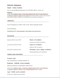 ... Strikingly Design Ideas Resume Translation 3 Online Tool To Easily  Create A Translator CV ...