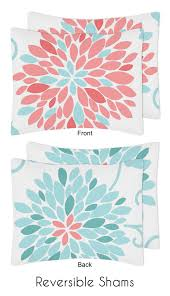 turquoise and c emma 3pc girls teen full queen bedding set collection by sweet jojo designs only 119 99