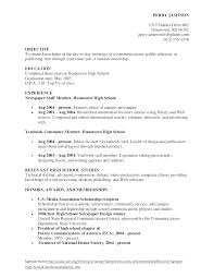 Resumes Examples For Students Best Sample College Grad Resume Example Of College Resumes College