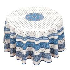 round cotton tablecloth round tablecloth tradition blue white indian cotton round tablecloths