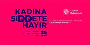 Rektör Çomaklı'dan 25 Kasım Kadına Yönelik Şiddetle Mücadele Günü mesajı -  Haberler