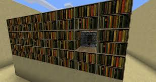 how to make a bookshelf in minecraft. Bookshelf Hidden Piston Door How To Make A In Minecraft