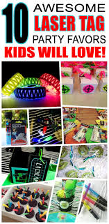 Great laser tag party favors kids will love. Fun and cool laser tag  birthday party