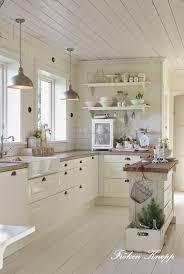 white cottage kitchens. Cottage Decorating Ideas 5 White Kitchens E