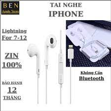 Giá Tai Nghe Iphone 8 Plus Có Dây & Khuyến mãi tháng 10/2021
