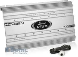 lanzar vibe432 vibe432n 4000w max 4 channel vibe series car amplifier lanzar vibe432