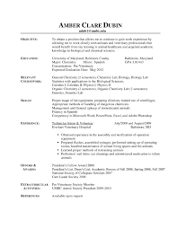 Vet Tech Resume Cover Letter Vet Tech Resumes Resume Template Vet