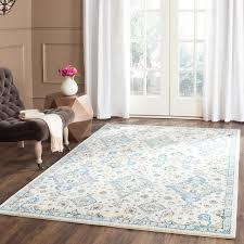 gemma area rug ivory light blue 10 x14 mediterranean area rugs by safavieh