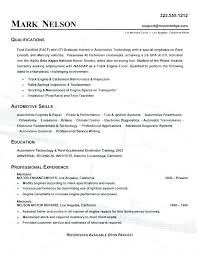 Auto Mechanic Resume Examples Download Mechanic Resume Example Car ...