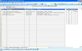 Income And Expense Template X Daily Income Expense Excel Template Small Business And Expenses