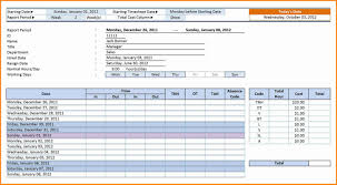 Timecard In Excel Unique Time Card Template Excel Konoplja Co