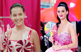 katy perry really doesn t look that unattractive without her mask on she looks like a pletely diffe person with makeup