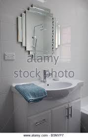 WellSuited Design Art Deco Style Bathroom Mirrors Bathroom