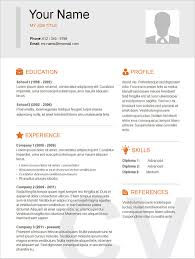 Attractive Resume Templates Free Download Resume Templates Free Download Word Fresh Attractive Resume 39