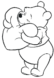 disney valentines day coloring pages. Brilliant Valentines Coloring Pages Valentines Day Winnie The Pooh  A Disney For Disney Valentines Day Coloring Pages E