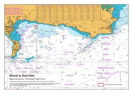 Location Chart Wreck To Reef