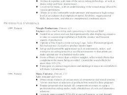 Sound Engineer Resume Sample Product Live Sound Engineer Resume ...
