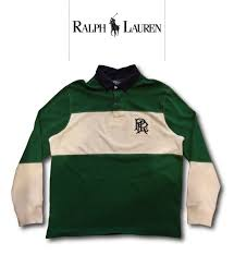 polo polo ralph lauren white green navy ralph lauren rugby shirt is silhouette is a custom fit