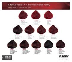 Yunsey Color Chart