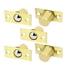 closet door ball catch door cabinet closet brass cylindrical spring ball catch closet door ball catch