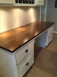 do it yourself office desk. Butcher Block For Our Computer Desk $50.00. Diy Office Do It Yourself E