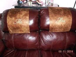 leather chair headrest covers recliner headrest covers sofa headrest covers chair recliner headrest
