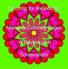 Mandala Coloring Pages App A Review With Screenshots Hubpages