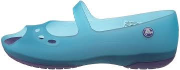 Work Crocs Crocs Kids Carlie Flat Shoe Ballerina Womens