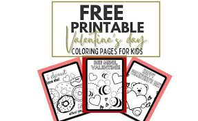 Free preschool coloring pages collections , all sets of coloring sheets activities for your kid. Valentine S Day Coloring Pages Pdf 2021 Cenzerely Yours