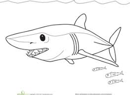 Small Picture Shark Images To Color Sharkgif Coloring Pages Maxvision
