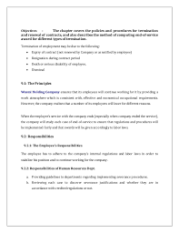 Return To Work Policy Template - Pccc.us