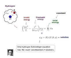 schrodinger equation for hydrogen jennarocca chapter 7 the hydrogen atom ppt
