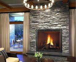 gas fireplace stone veneer decoration electric fireplaces design