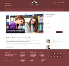 Free Bookstore Website Template Free Css Templates For School Download Management Kennyyoung
