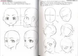 close moe characters manga drawing book item picture1