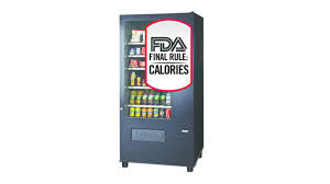 Calories In Vending Machine Coffee New FDA To Extend Compliance Date For Certain Vending Machine Calorie