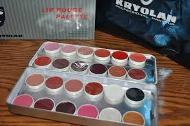 kryolan professional makeup 24 lip rouge palette for only php7 600